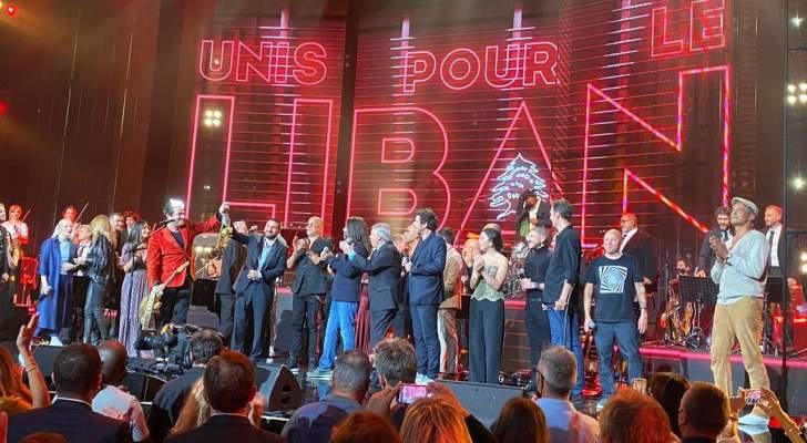 """حفل """"Unis Pour Le Liban"""" يتصدر وتفاعل عالمي ولبناني وإليسا ومايا دياب تعلّقان- بالفيديو والصور"""