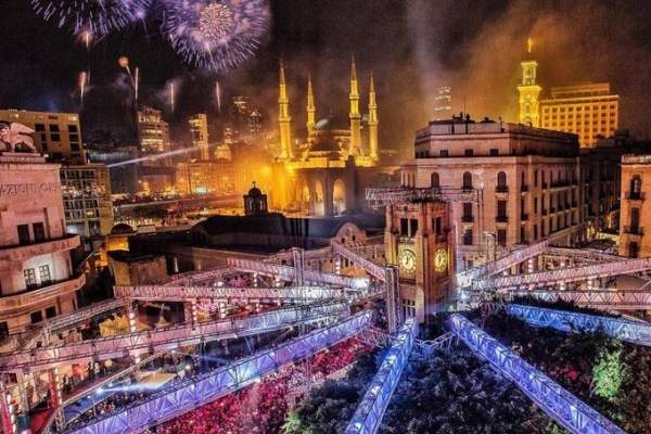 """بيروت على خريطة العالم في إحتفالات رأس السنة إنجاز في وجه """"بلطجية"""" الحفلات"""