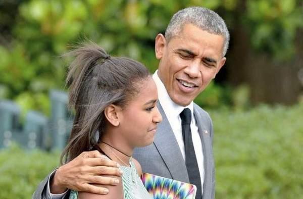إسم إبنة أوباما يُثير البلبلة على مواقع التواصل!