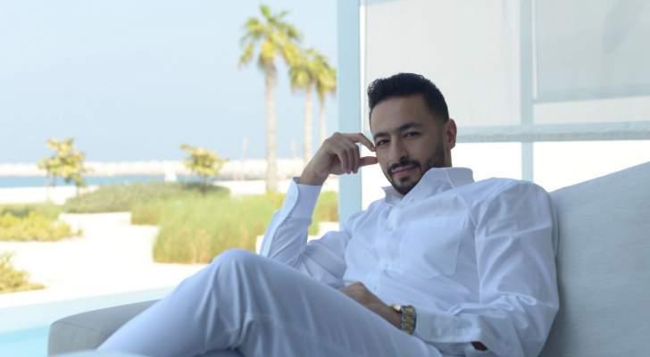 """حمادة هلال بأسلوب مختلف وغير معتاد بـ""""آية في الجمال"""".. بالفيديو"""