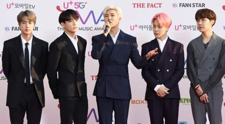 فرقة BTS الكورية الجنوبية تصدر أغنيتها الجديدة في هذا الموعد