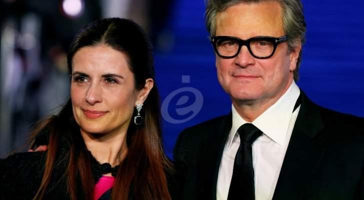 كولين فيرث وزوجته الإيطالية يعلنان إنفصالهما