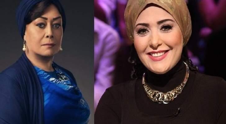 صابرين وهالة فاخر إستعانتا بالباروكة بدلاً من الحجاب .. فما رأي المشاهد؟