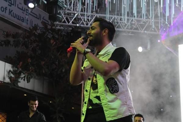 """إياد يُغني """"واضحة الصورة"""" للمرة الأولى على مسرح إحتفالات بيروت.. بالصور"""