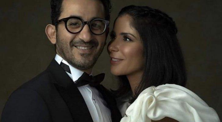 منى زكي تهدد أحمد حلمي بالسكين وهو يشعر بالذعر- بالفيديو
