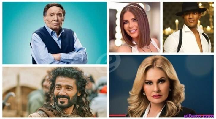 عادل إمام ومحمد رمضان ويسرا أبرز الحاضرين في مسلسلات رمضان.. ومنى زكي وخالد النبوي يغيبان