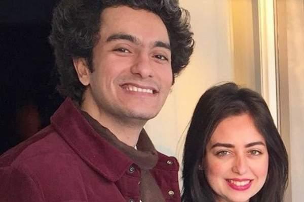 هبة مجدي تهنئ زوجها بعيد ميلاده-بالصورة