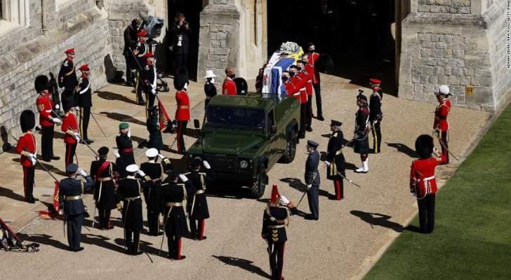 بالفيديو- بريطانيا تودع الأمير فيليب في جنازة مهيبة