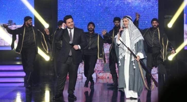 أجواء عيد الحب تسيطر على حلقة ديو المشاهير بحضور ملحم زين-بالصور
