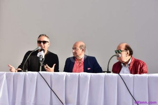 خاص بالصور- تفاصيل ندوة حسن حسني في مهرجان القاهرة السينمائي