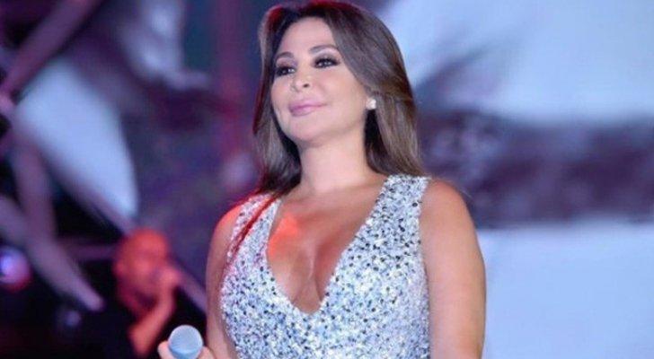 إليسا متشوقة لحفلها الليلة في الرياض ومعجبوها يفاجئونها بالورود-بالصور