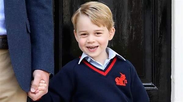 أصدقاء الأمير جورج ماذا ينادونه في المدرسة؟