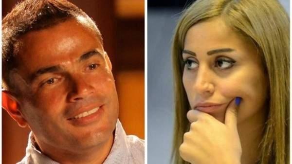 علاقة عمرو دياب ودينا الشربيني الى الواجهة من جديد والسبب؟؟