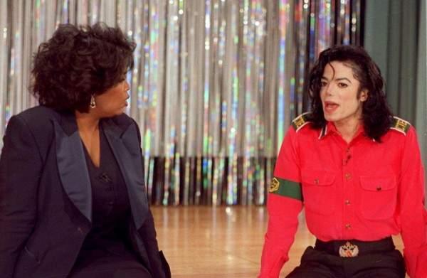 مايكل جاكسون يكشف لـ أوبرا وينفري أنه يرفض أن يجسد دوره ممثل أبيض