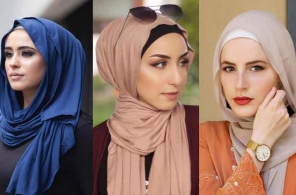 إعتمدي لفات حجاب عصرية تليق بك وفقاً لشكل وجهك..بالصور