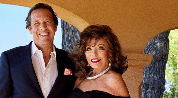 هكذا إحتفلت جون كولينز وزوجها بالرابع من تموز- بالصورة