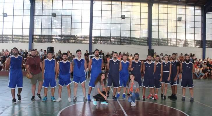 كارلوس عازار ونيكولا مزهر وجو صادر وغنوة محمود وإيلي جلادة يتبارون في كرة السلة لدعم Midade