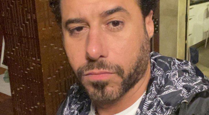 أحمد السعدني يعلن إصابة كتفه ورقبته- بالصور