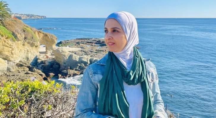 بالصورة- حنان ترك تعلق على عودتها إلى التمثيل بنشرها صورتها مع زوجها