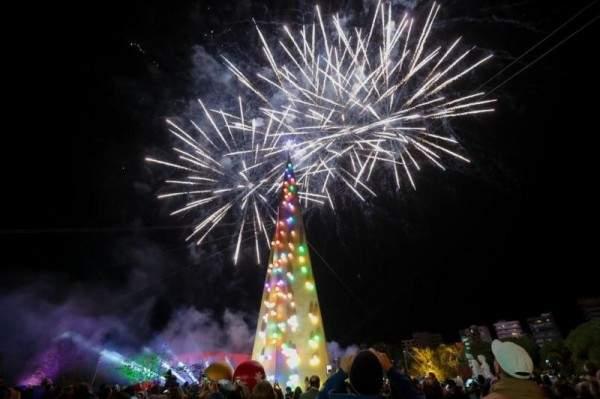 غبريال عبد النور وماريتا الحلاني يحتفلان بأجواء عيد الميلاد في طرابلس
