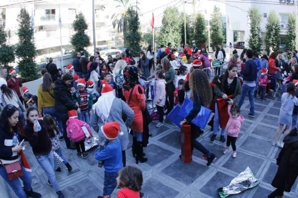 بلدية الحازمية تدخل الفرح لقلوب الأطفال في الميلاد..بالصور