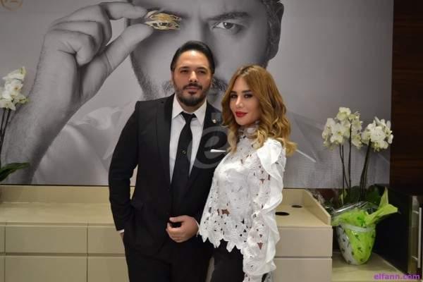 رامي عياش وزوجته يكشفان للمرة الأولى عن وجه إبنهما إحتفالاً بهذه المناسبة