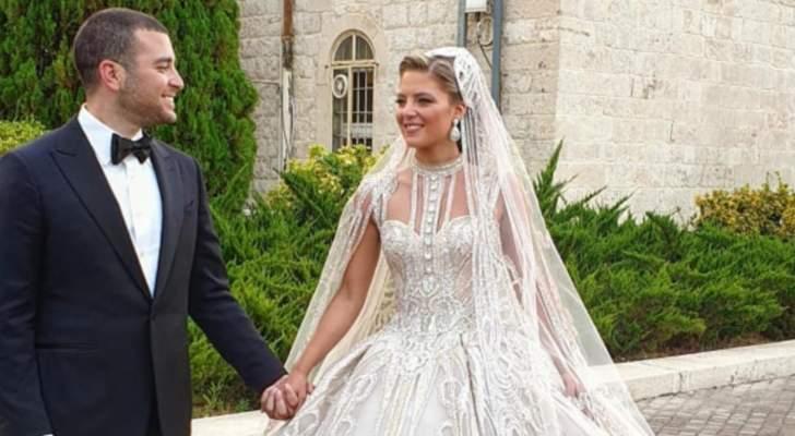 حفل زفاف خيالي لإبن ايلي صعب بين بكركي وفقرا والأناقة والفخامة والمشاهير