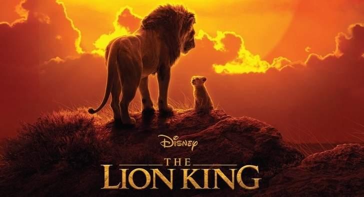 فيلم The Lion King ينال عرش الصدارة