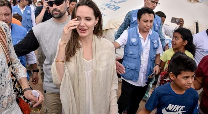 هكذا دافعت أنجلينا جولي عن أطفال فنزويلا