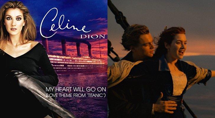 """سيلين ديون تكشف سراً مفاجئاً عن أغنية فيلم """"Titanic"""""""