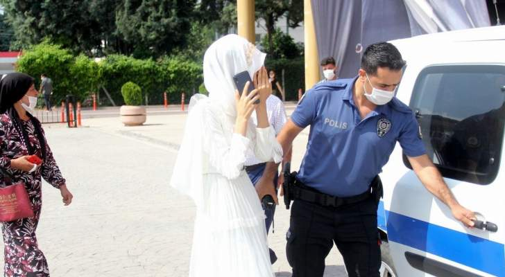 إستدعت الشرطة يوم زفافها.. لهذا السبب! بالفيديو