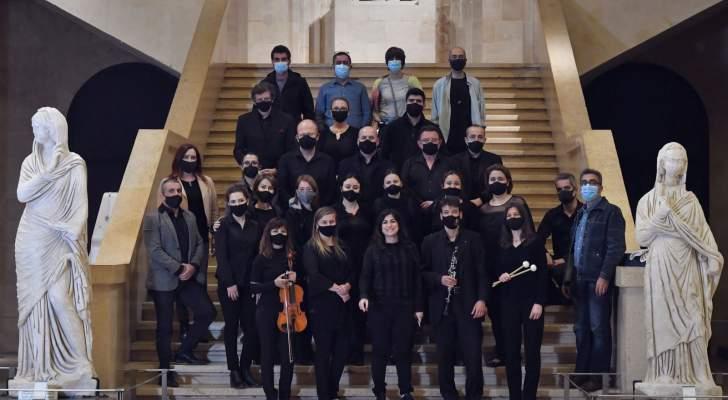 بالصور- هبة القواس في عروض مميزة لأكاديميتها بالتعاون مع مجموعة أبو ظبي للثقافة والفنون