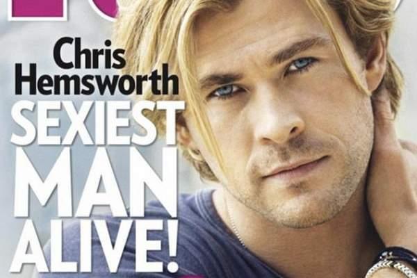"""كريس هيمسورث """"أكثر رجل إثارة على قيد الحياة"""""""