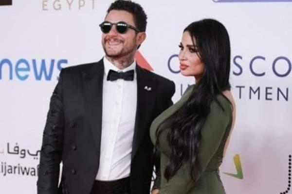 بعد خبر الطلاق.. هذا ما قاله أحمد الفيشاوي لزوجته