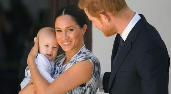 """الأمير هاري وميغان ماركل يحتفلان بعيد ميلاد إبنهما """"آرتشي"""".. والأمير تشارلز يعايده - بالصورة"""