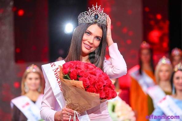 أليسيا سيميرينكو تُتَوّج بلقب ملكة جمال موسكو