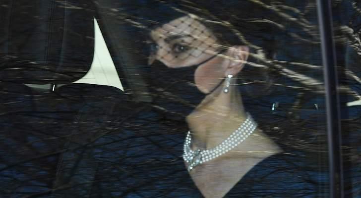 كيت ميدلتون تحضر جنازة الأمير فيليب