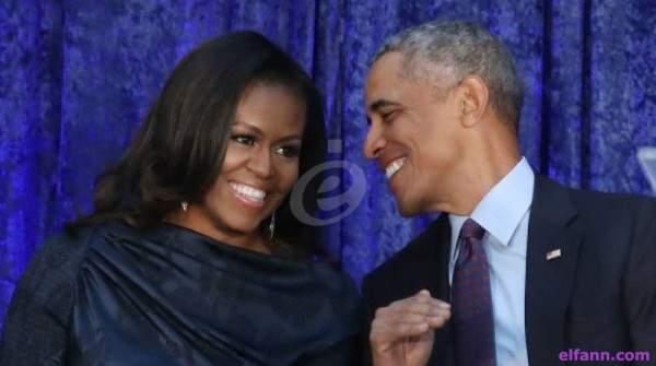 خمنوا كيف إحتفلت ميشيل أوباما بعيد الحب- بالصورة