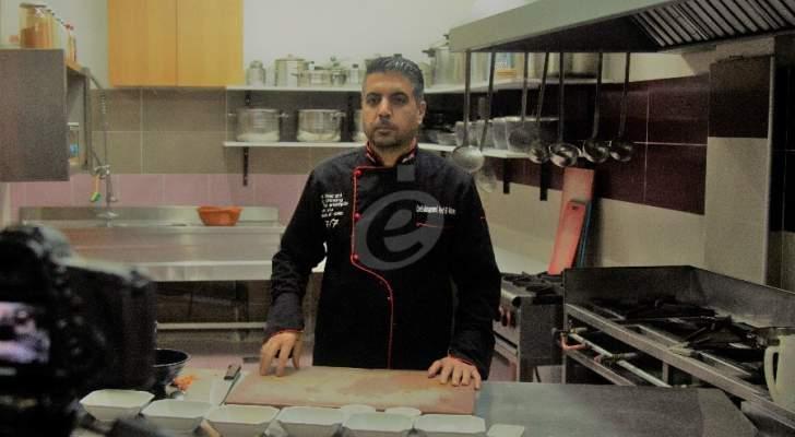 """خاص وبالفيديو- طبق """"لبن إمه - معقودة - شاكرية"""" على طريقة الشيف محمد عبد المنعم وهكذا تستخدمون البصل في تحضيره"""