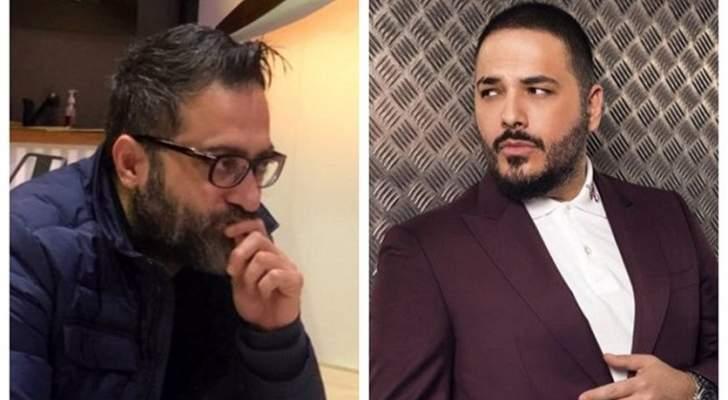 حرب كلامية بين رامي عياش وناصر فقيه والسبب دموع داليدا عياش