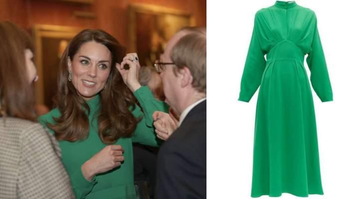 إليكم سعر فستان كيت ميدلتون في آخر حفل في القصر