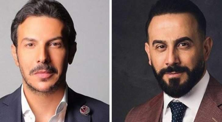 قصي خولي يعزي باسل خياط برحيل والده