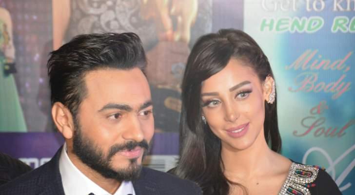 تامر حسني وبسمة بوسيل.. إعتزلت الفن للزواج منه وفنانة تؤكد خيانته وجدل حول إنفصالهما