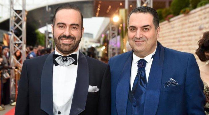 فادي وزاهي حلو مكرمان في حفل دير جيست مصر