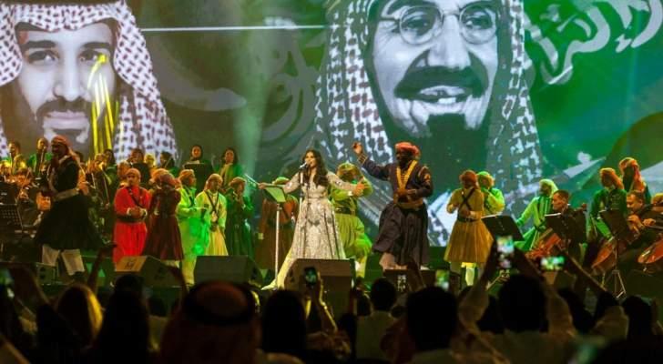 محمد عبده وعمرو دياب وأحلام يتألقون في السعودية..بالصور