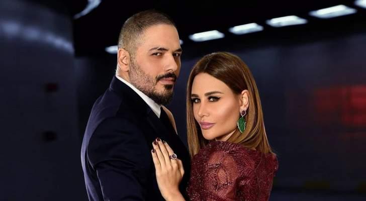 رامي عياش يجتمع بالفريق الطبي الذي إهتم بزوجته داليدا بعد إصابتها بإنفجار بيروت.. بالصورة