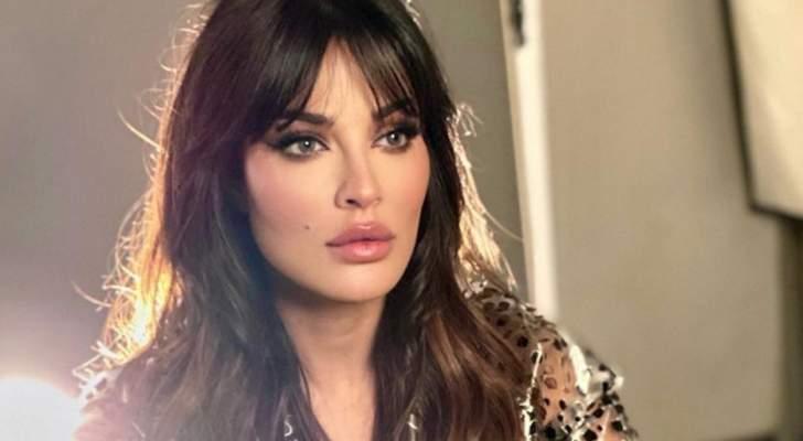 بالفيديو- شاهد نادين نسيب نجيم تتعرض لموقف محرج وتدخل في نوبة ضحك