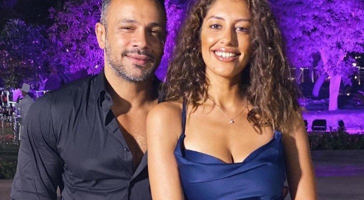 ميرنا الهلباوي تحتفل بعيد ميلاد محمد عطية وتثير التساؤلات- بالصورة