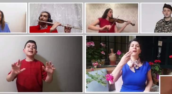 """مارينا واكيم مخيبر و""""ليبام"""" يغنيان """"الحياة أحلى بلا تدخين"""" بمناسبة """"اليوم العالمي لمكافحة التدخين"""""""