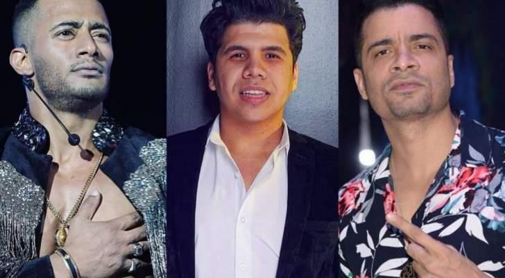 """حسن شاكوش وعمر كمال يتفوقان على محمد رمضان بحسب إستفتاء """"الفن"""""""